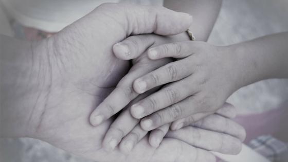 hands in hand