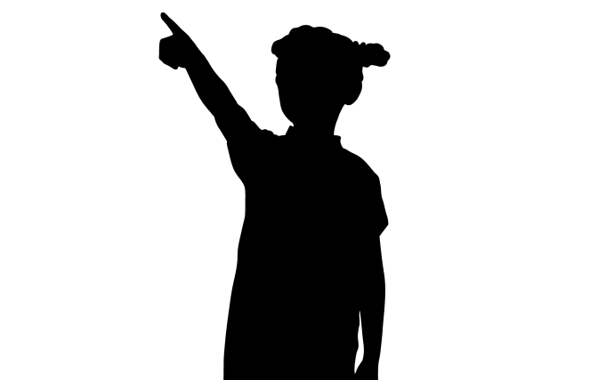silhouette girl pointing_1253758_stockunlmtd_cropped